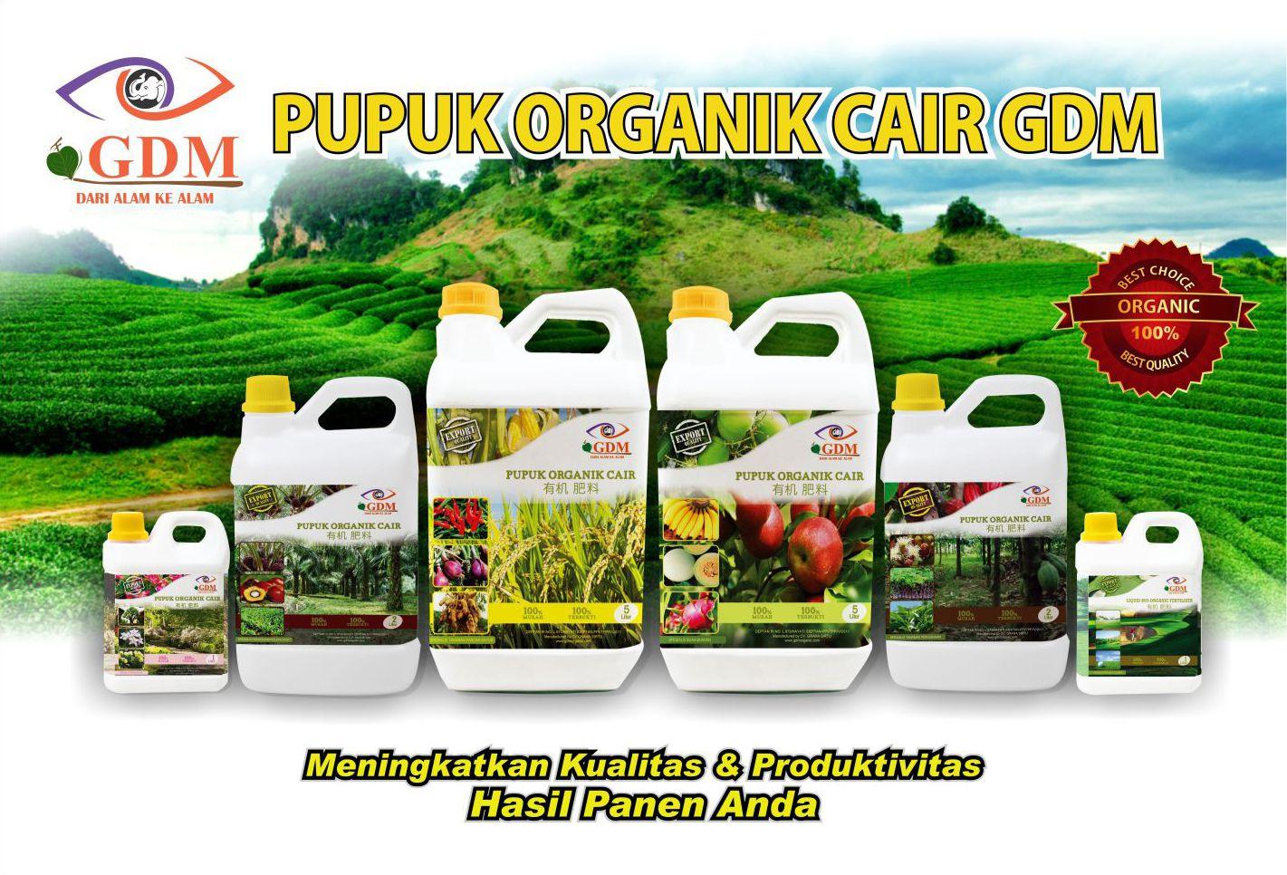 produk pupuk organik cair gdm