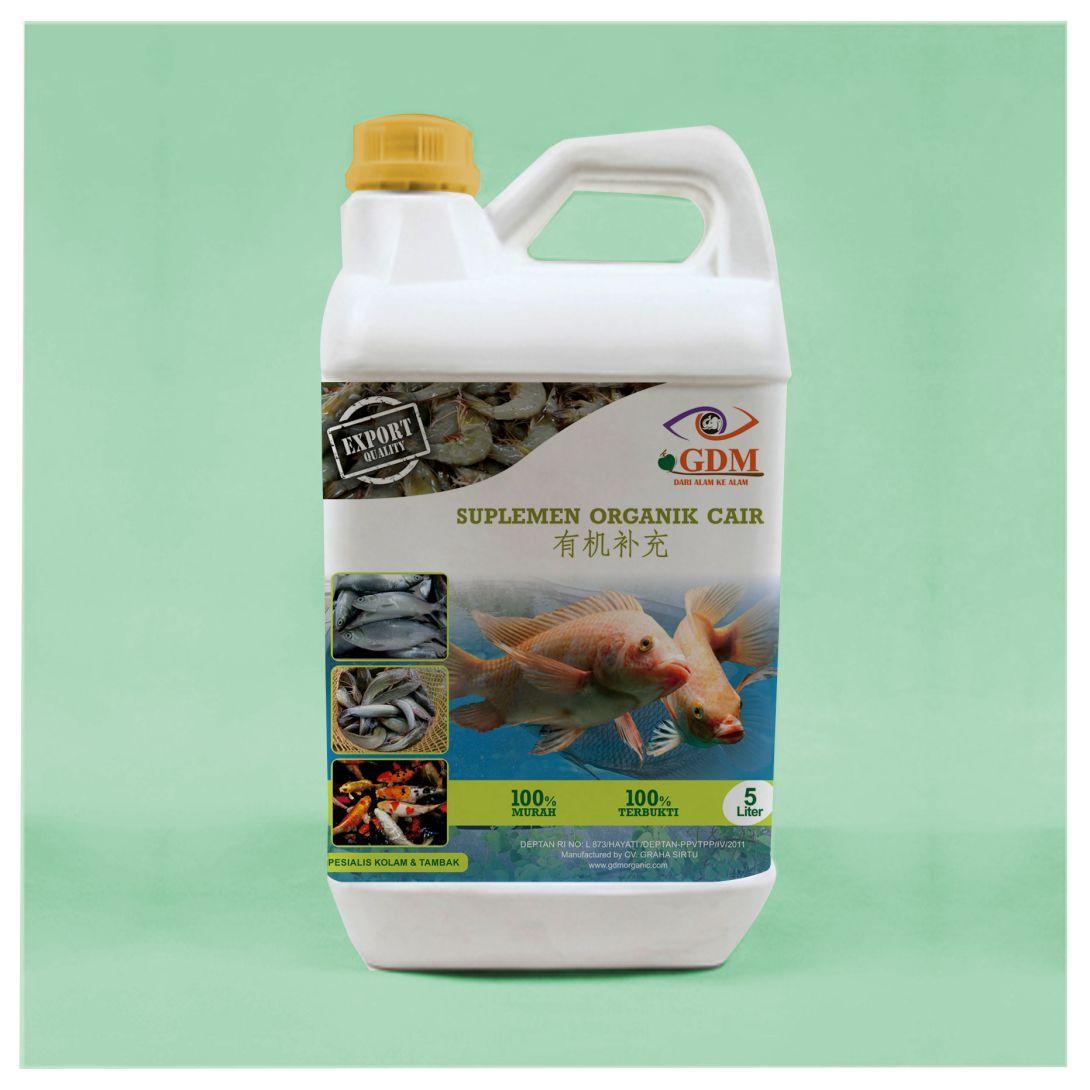 suplemen organik untuk meningkatkan hasil perikanan