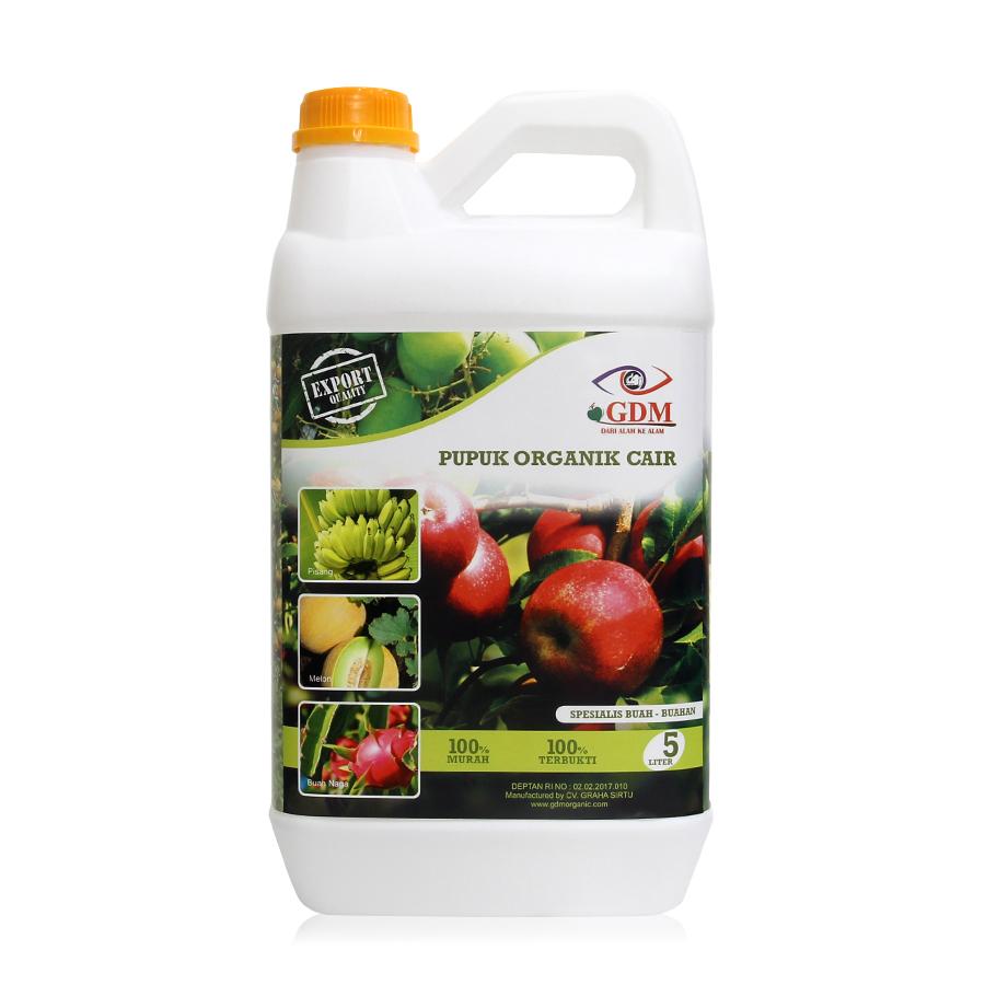 pupuk organik cair gdm spesialis tanaman buah 5ltr
