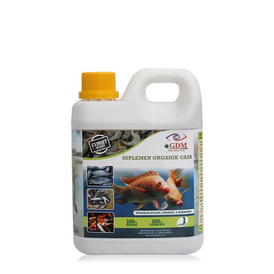 suplemen organik cair gdm spesialis ikan 1ltr