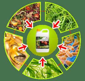 bahan pupuk organik cair gdm spesialis buah