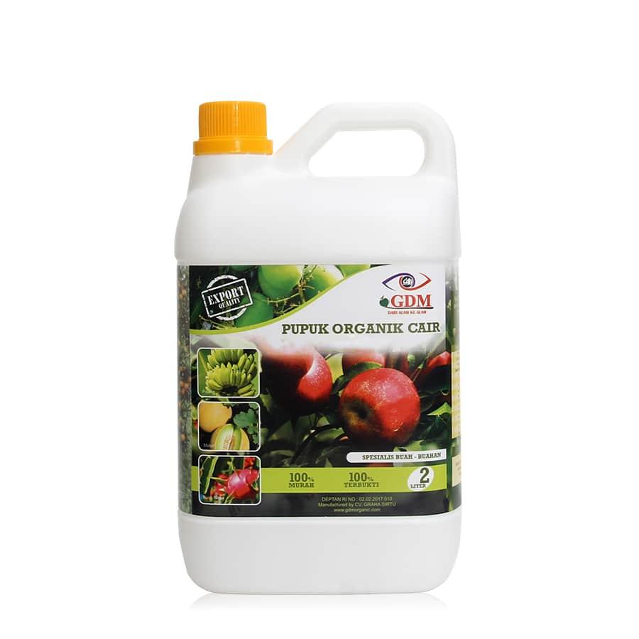 produk pupuk organik cair gdm spesialis buah 2ltr