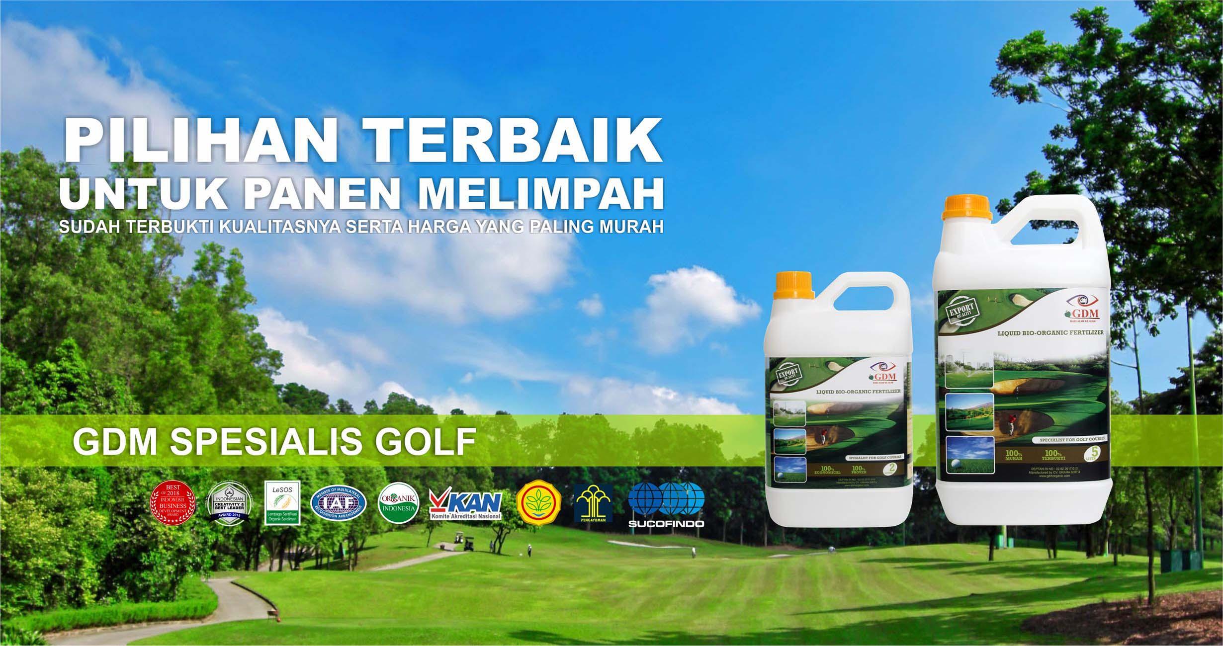 cover pupuk organik cair spesialis golf