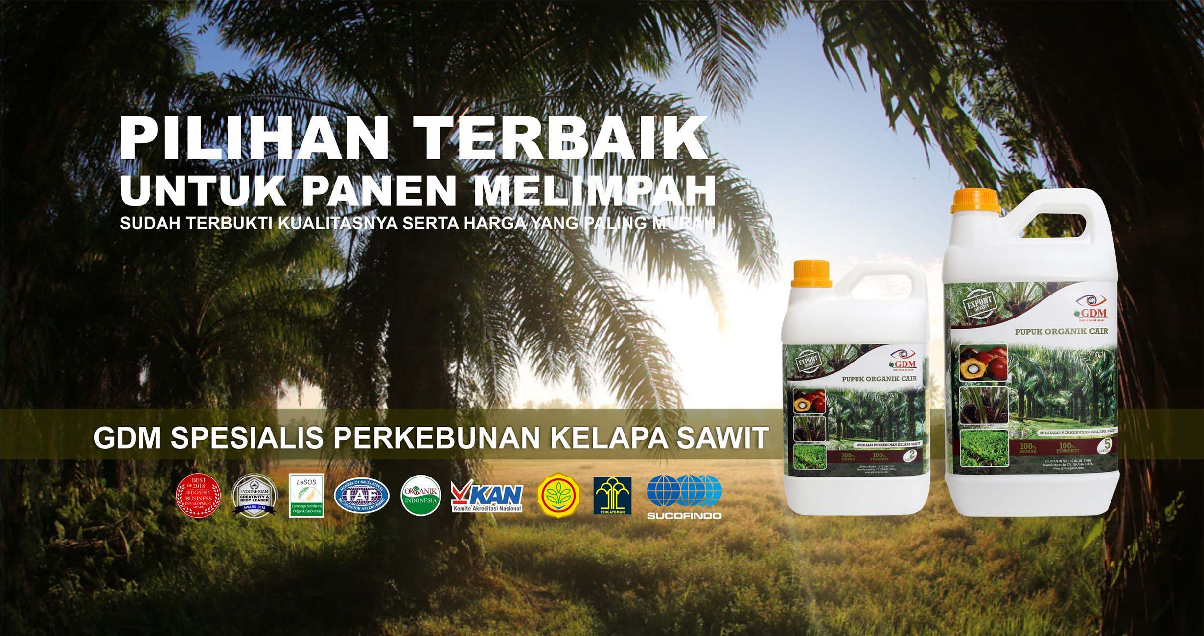 cover pupuk organik cair spesialis kelapa sawit