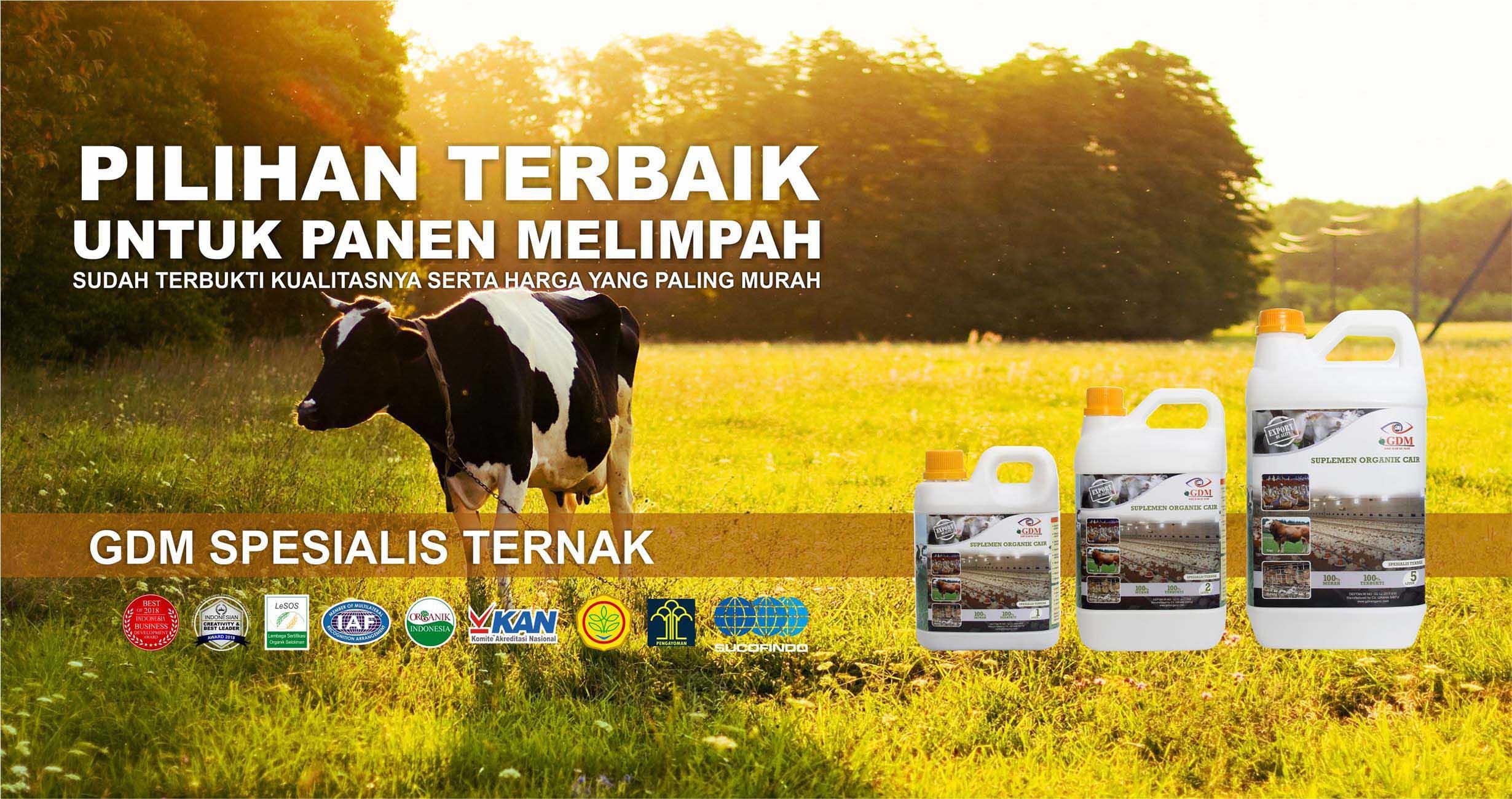 cover suplemen organik cair spesialis ternak