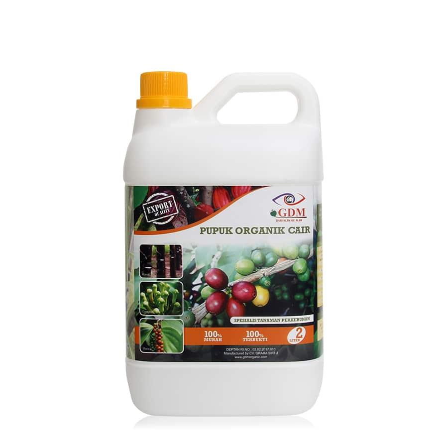produk pupuk organik cair gdm spesialis kebun 2ltr