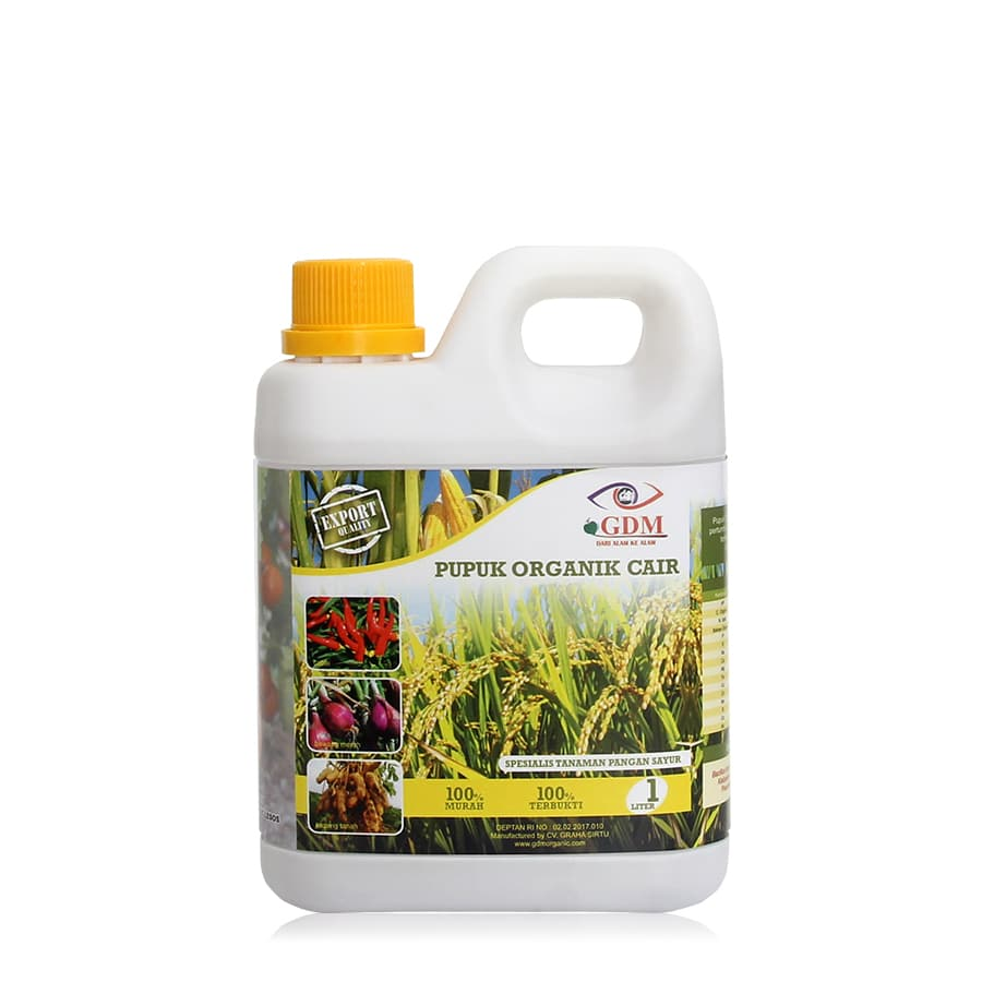 produk pupuk organik cair gdm spesialis pangan 1ltr