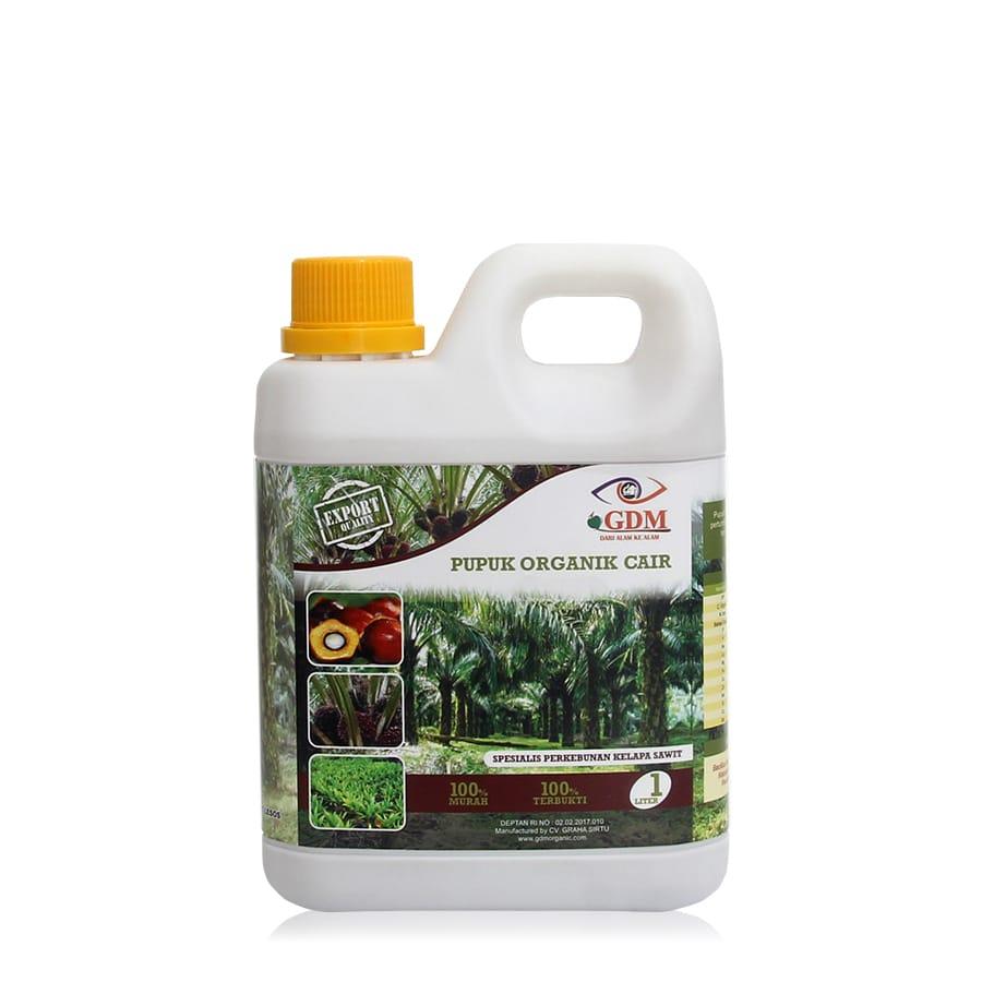 produk pupuk organik cair gdm spesialis kelapa sawit 1ltr
