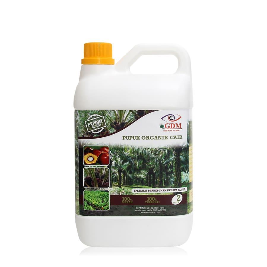 produk pupuk organik cair gdm spesialis kelapa sawit 2ltr