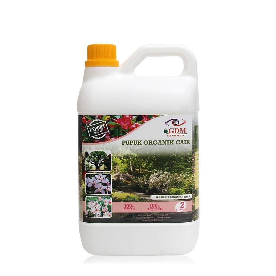 produk pupuk organik cair gdm spesialis tanaman hias 2ltr