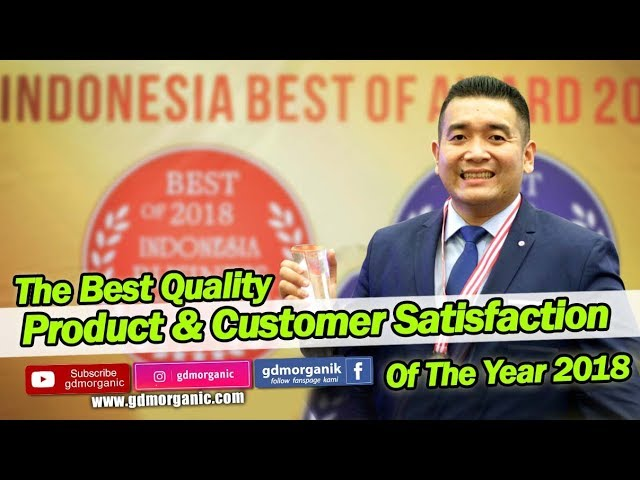 The best quality product & customer satisfaction of the year 2018